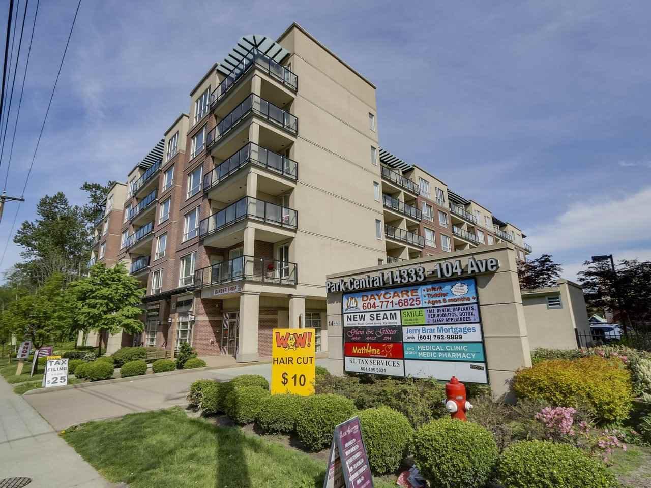 "Main Photo: 610 14333 104 Avenue in Surrey: Whalley Condo for sale in ""Park Central"" (North Surrey)  : MLS®# R2283910"