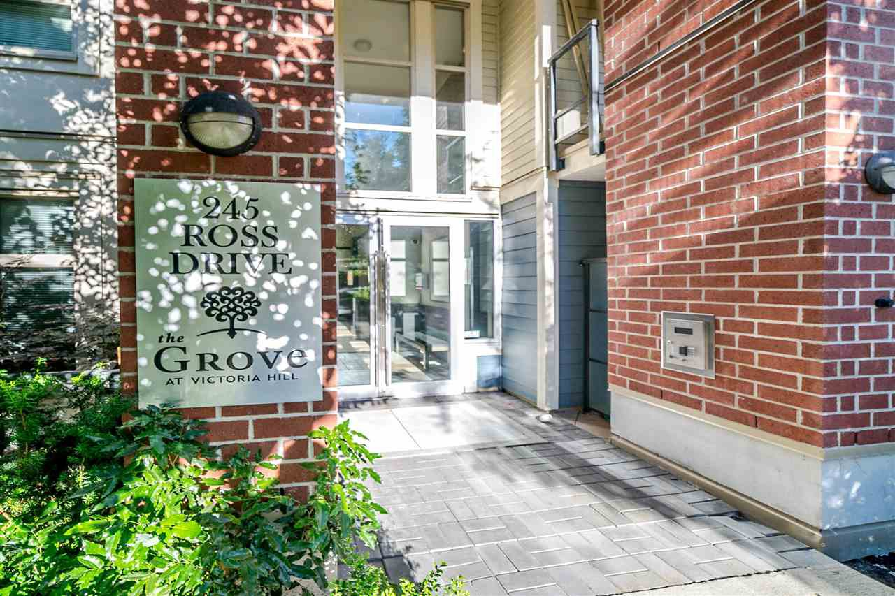 "Main Photo: 109 245 ROSS Drive in New Westminster: Fraserview NW Condo for sale in ""GROVE"" : MLS®# R2288218"