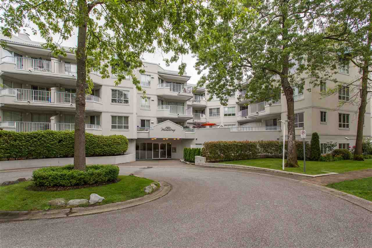 """Main Photo: 201 8600 GENERAL CURRIE Road in Richmond: Brighouse South Condo for sale in """"THE MONTEREY"""" : MLS®# R2377416"""