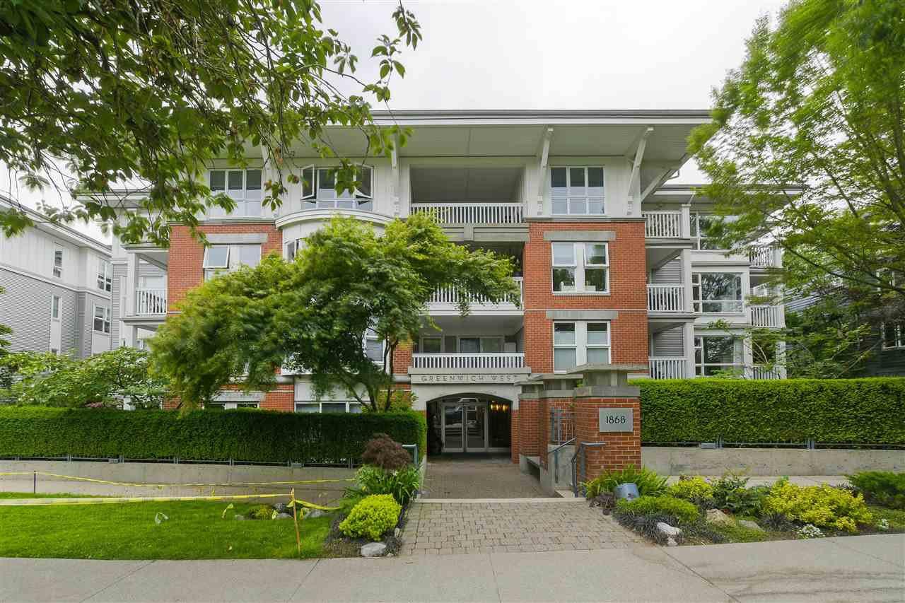 Main Photo: 110 1868 W 5TH Avenue in Vancouver: Kitsilano Condo for sale (Vancouver West)  : MLS®# R2377901
