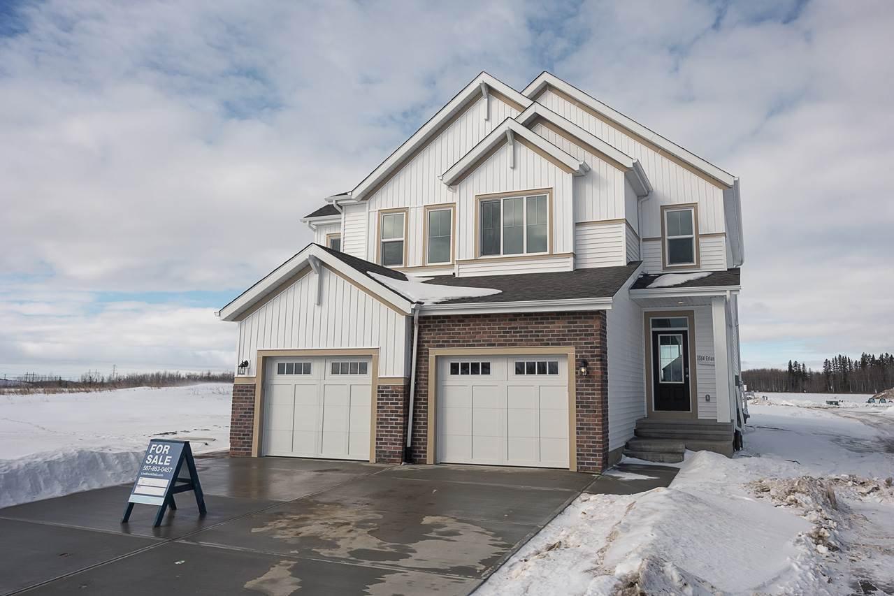Main Photo: 3564 ERLANGER Link in Edmonton: Zone 57 House Half Duplex for sale : MLS®# E4191881
