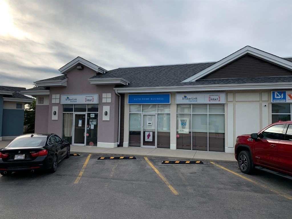 Main Photo: 401 & 402 191 EDWARDS Way SW: Airdrie Office for sale : MLS®# A1015756