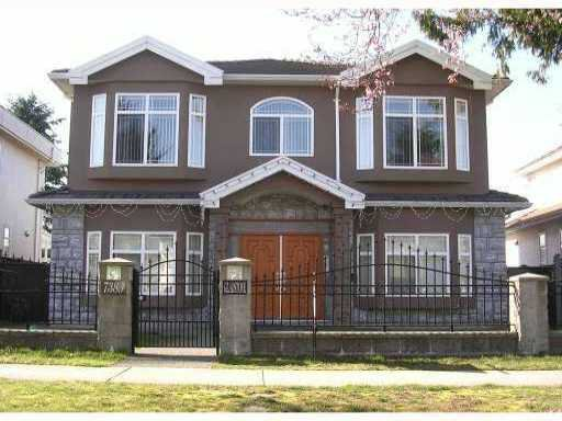 "Main Photo: 7389 GLADSTONE Street in Vancouver: Fraserview VE House for sale in ""FRASERVIEW"" (Vancouver East)  : MLS®# V916722"
