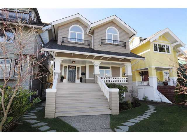 Main Photo: 3630 Point Grey Road in Vancouver: Kitsilano House for sale (Vancouver West)  : MLS®# v939358