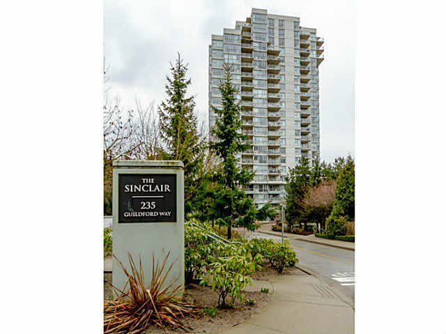 "Main Photo: 1607 235 GUILDFORD Way in Port Moody: North Shore Pt Moody Condo for sale in ""SINCLAIR"" : MLS®# V1092650"