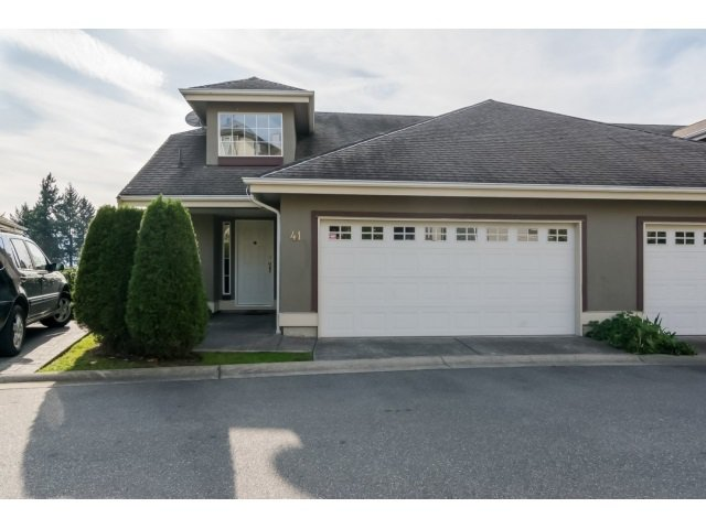 "Main Photo: 41 2068 WINFIELD Drive in Abbotsford: Abbotsford East Townhouse for sale in ""The Summit at Rose Hill"" : MLS®# R2009259"