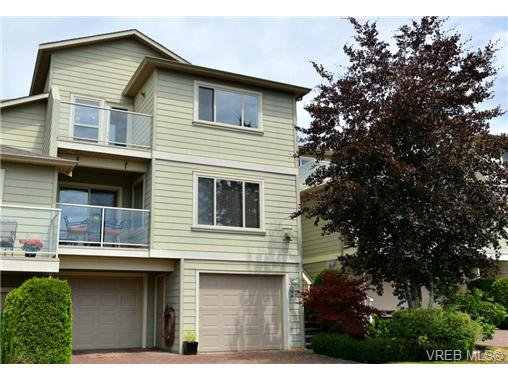 Main Photo: 24 127 Aldersmith Place in VICTORIA: VR Glentana Townhouse for sale (View Royal)  : MLS®# 368134