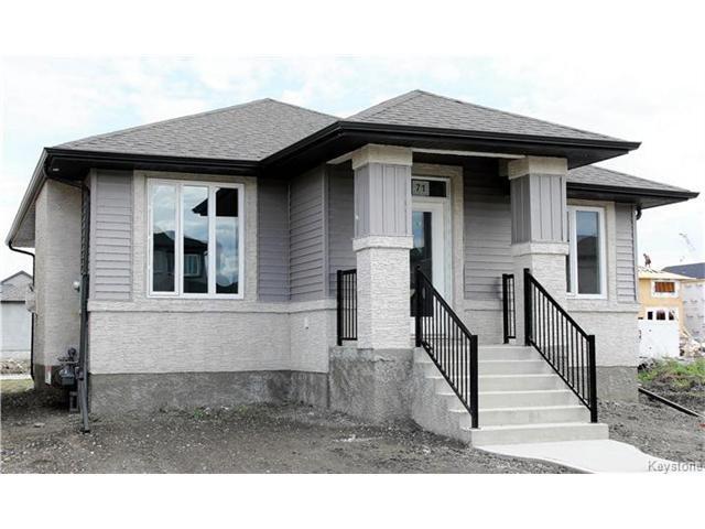 Main Photo: 71 Goodfellow Way in Winnipeg: Devonshire Village Residential for sale (3K)  : MLS®# 1701228