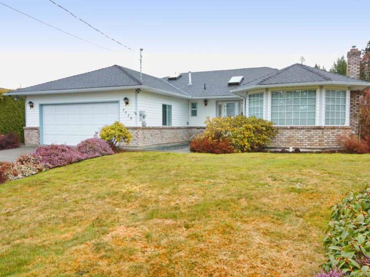 Main Photo: 1320 GILLEY Crescent in PARKSVILLE: PQ French Creek House for sale (Parksville/Qualicum)  : MLS®# 753646
