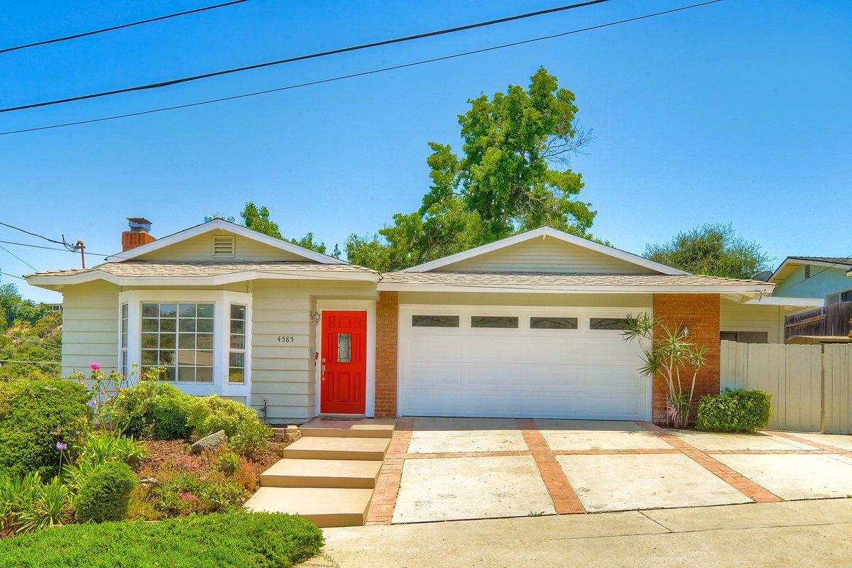 Main Photo: CLAIREMONT House for sale : 3 bedrooms : 4585 Diane Way in San Diego