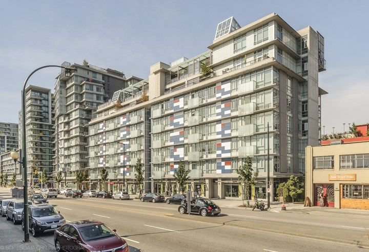 Main Photo: 806 63 W 2ND AVENUE in Vancouver: False Creek Condo for sale (Vancouver West)  : MLS®# R2215360