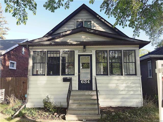 Main Photo: 634 Garwood Avenue in Winnipeg: Residential for sale (1B)  : MLS®# 1813406