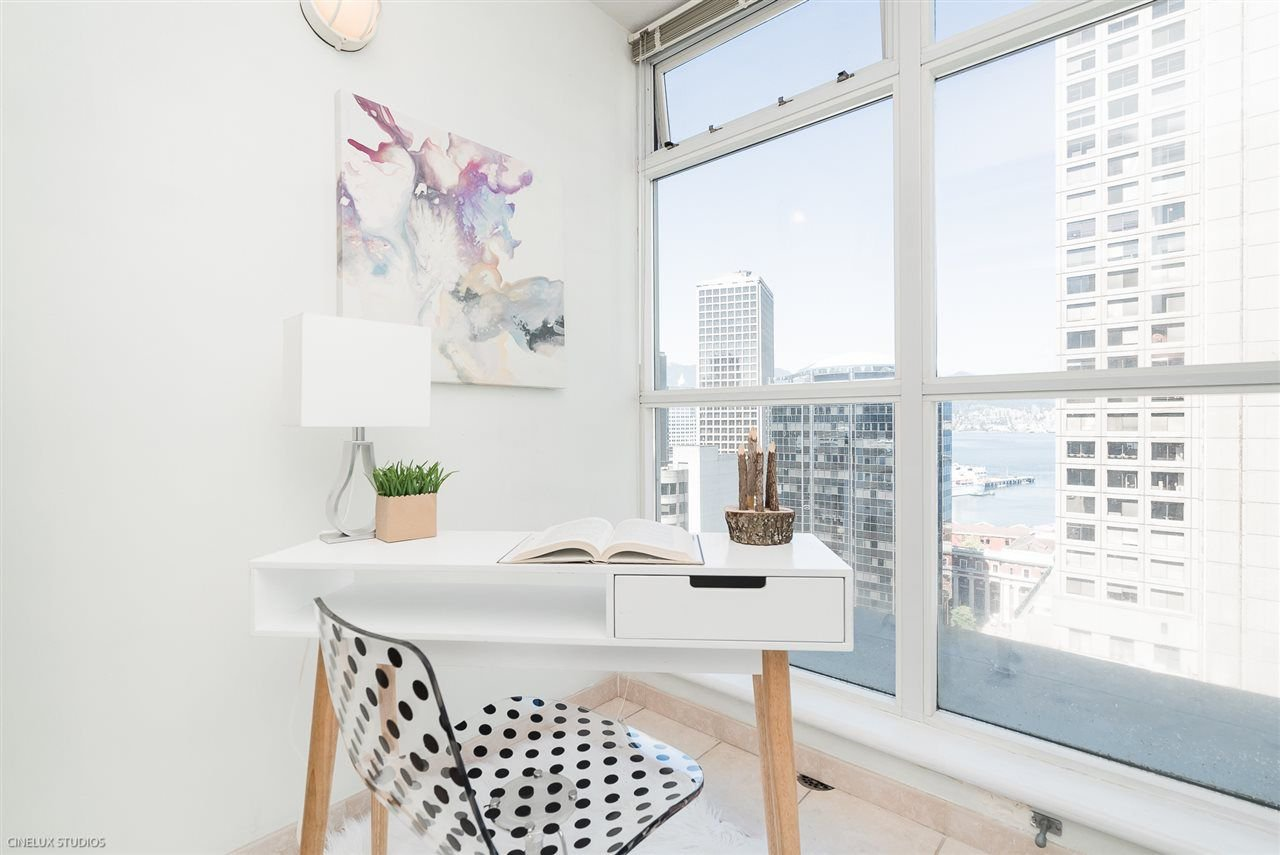 """Main Photo: 1806 438 SEYMOUR Street in Vancouver: Downtown VW Condo for sale in """"THE CONFERENCE PLAZA"""" (Vancouver West)  : MLS®# R2289449"""
