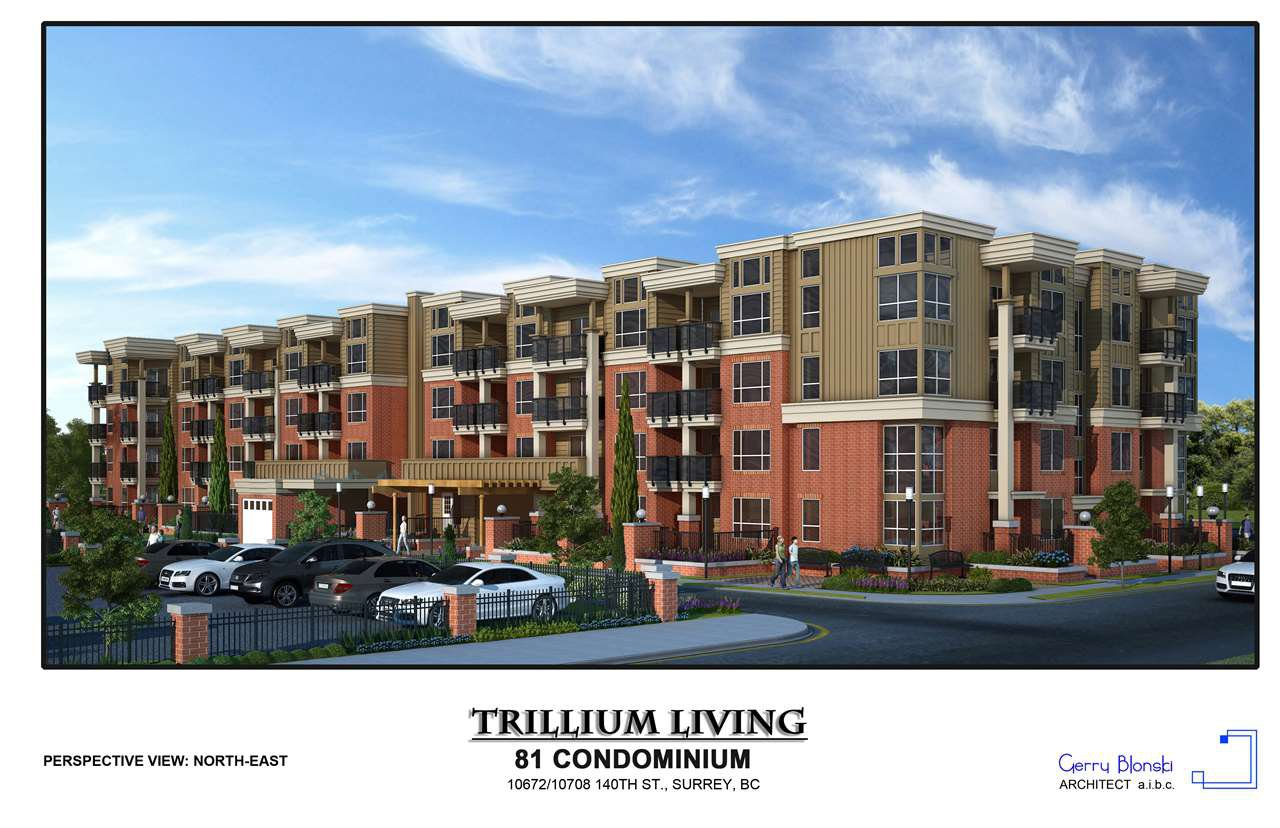 "Main Photo: 409 10688 140 Street in Surrey: Whalley Condo for sale in ""TRILLIUM LIVING"" (North Surrey)  : MLS®# R2346783"