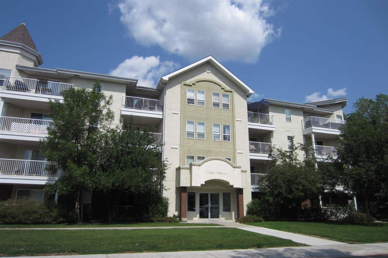 Main Photo: 206 11104 109 Avenue in Edmonton: Zone 08 Condo for sale : MLS®# E4158506