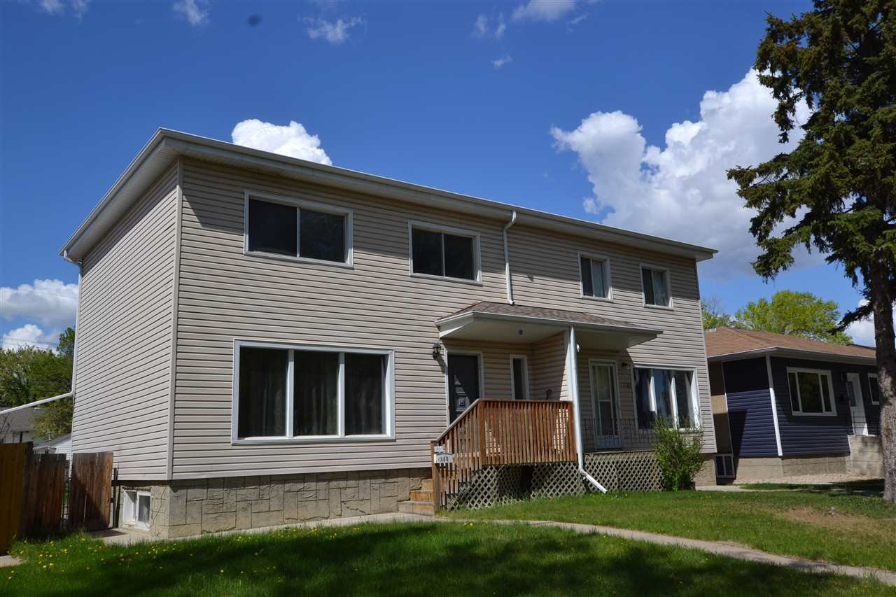 Main Photo: 13530 & 13532 WOODCROFT Avenue in Edmonton: Zone 07 House Duplex for sale : MLS®# E4158998