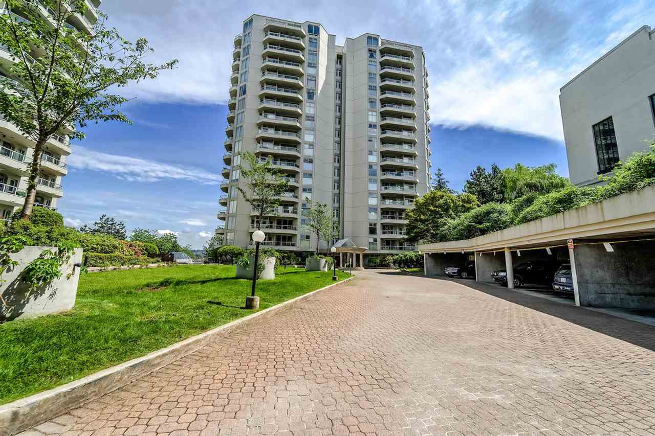 Main Photo: 1203 69 JAMIESON Court in New Westminster: Fraserview NW Condo for sale : MLS®# R2378836