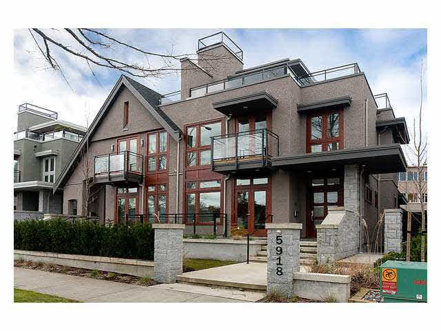 Main Photo: 5918 CHANCELLOR BOULEVARD in : University VW House 1/2 Duplex for sale (Vancouver West)  : MLS®# V878813