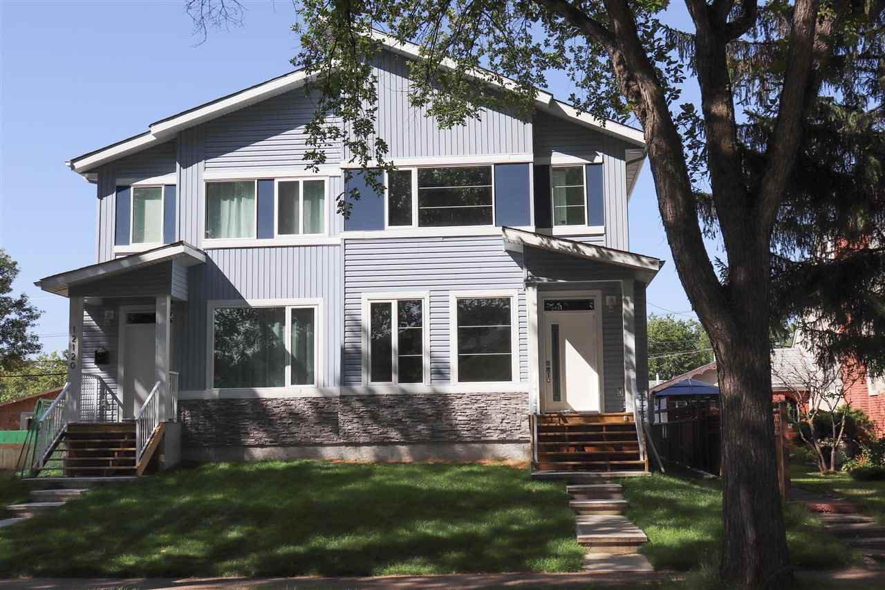 Main Photo: 12122 80 Street in Edmonton: Zone 05 House Half Duplex for sale : MLS®# E4171195