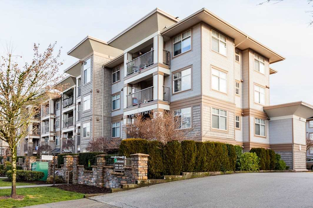 "Main Photo: 202 12248 224 Street in Maple Ridge: East Central Condo for sale in ""URBANO"" : MLS®# R2425702"