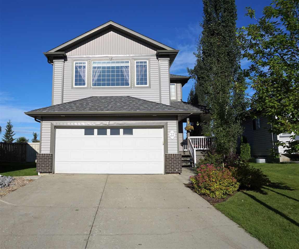 Main Photo: 22 WILLOWBY Close: Stony Plain House for sale : MLS®# E4189255