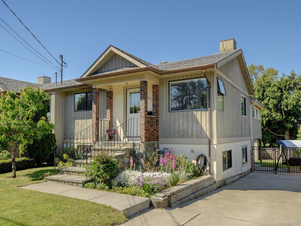 Main Photo: 1466 Denman St in Victoria: Vi Fernwood Half Duplex for sale : MLS®# 839735
