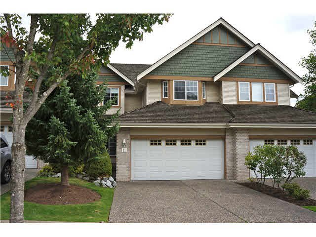 """Photo 1: Photos: 11 1765 PADDOCK Drive in Coquitlam: Westwood Plateau Townhouse for sale in """"WORTHING GREEN"""" : MLS®# V1091636"""