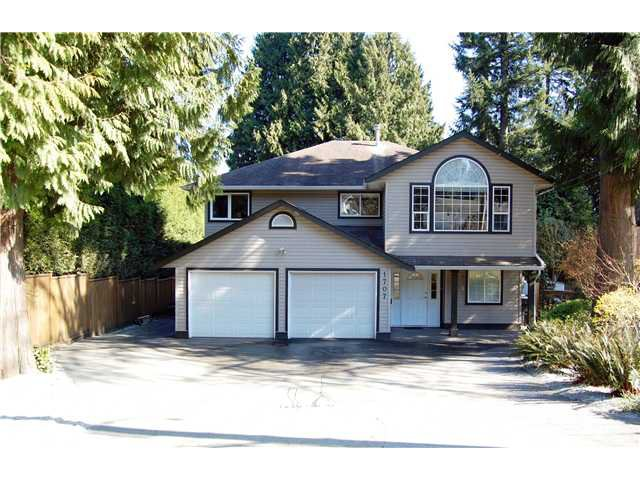 Main Photo: 1707 Oughton Drive in Port Coquitlam: Mary Hill House for sale : MLS®# V1109889