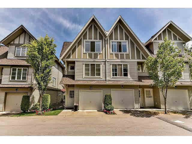 "Main Photo: 3 15175 62A Avenue in Surrey: Sullivan Station Townhouse for sale in ""The Brooklands"" : MLS®# F1444147"