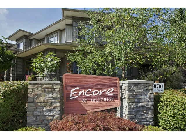 "Main Photo: 37 18701 66TH Avenue in Surrey: Cloverdale BC Townhouse for sale in ""ENCORE AT HILLCREST"" (Cloverdale)  : MLS®# F1449899"