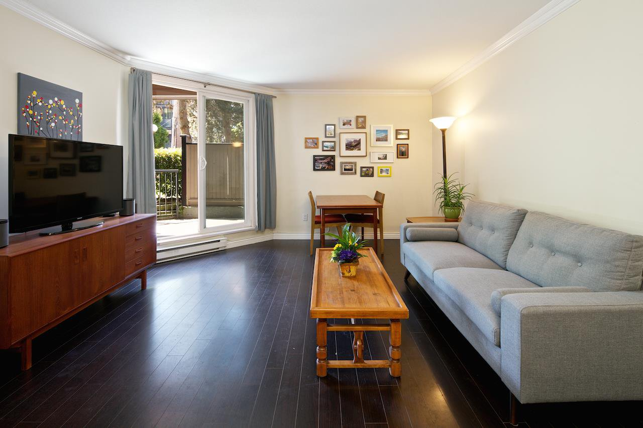 """Photo 2: Photos: 106 1550 BARCLAY Street in Vancouver: West End VW Condo for sale in """"THE BARCLAY"""" (Vancouver West)  : MLS®# R2068422"""