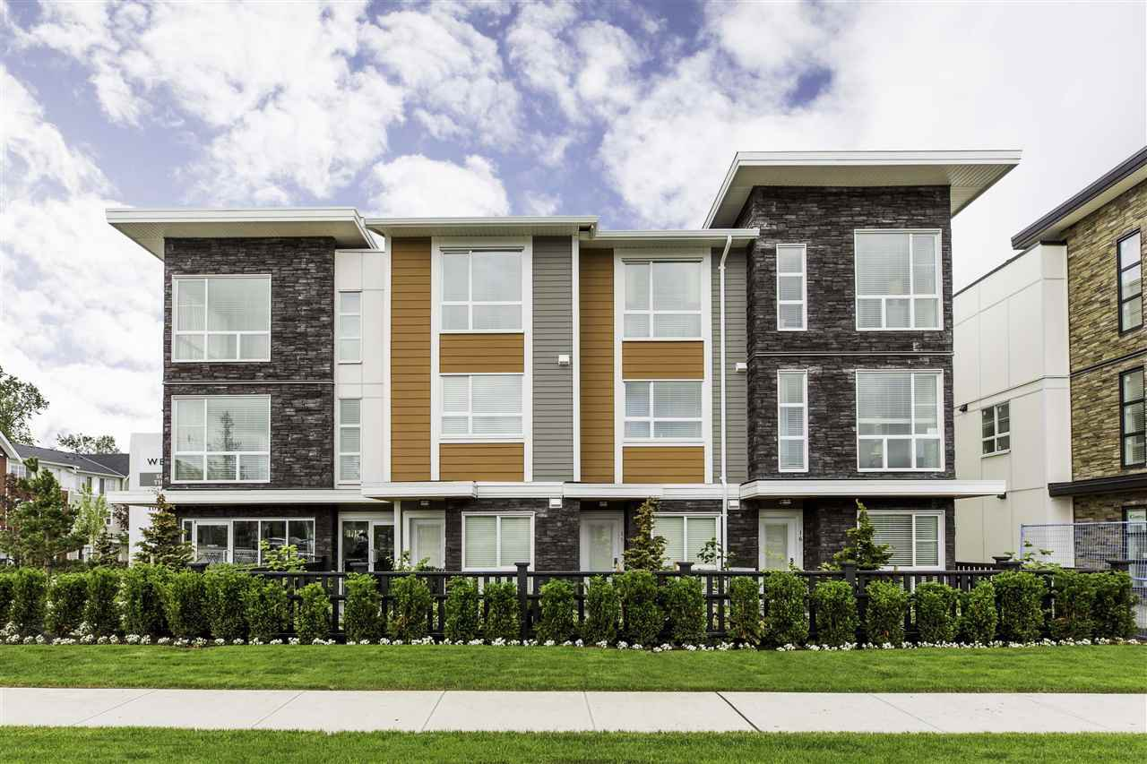 "Main Photo: 75 20857 77A Avenue in Langley: Willoughby Heights Townhouse for sale in ""The Wexley"" : MLS®# R2210861"