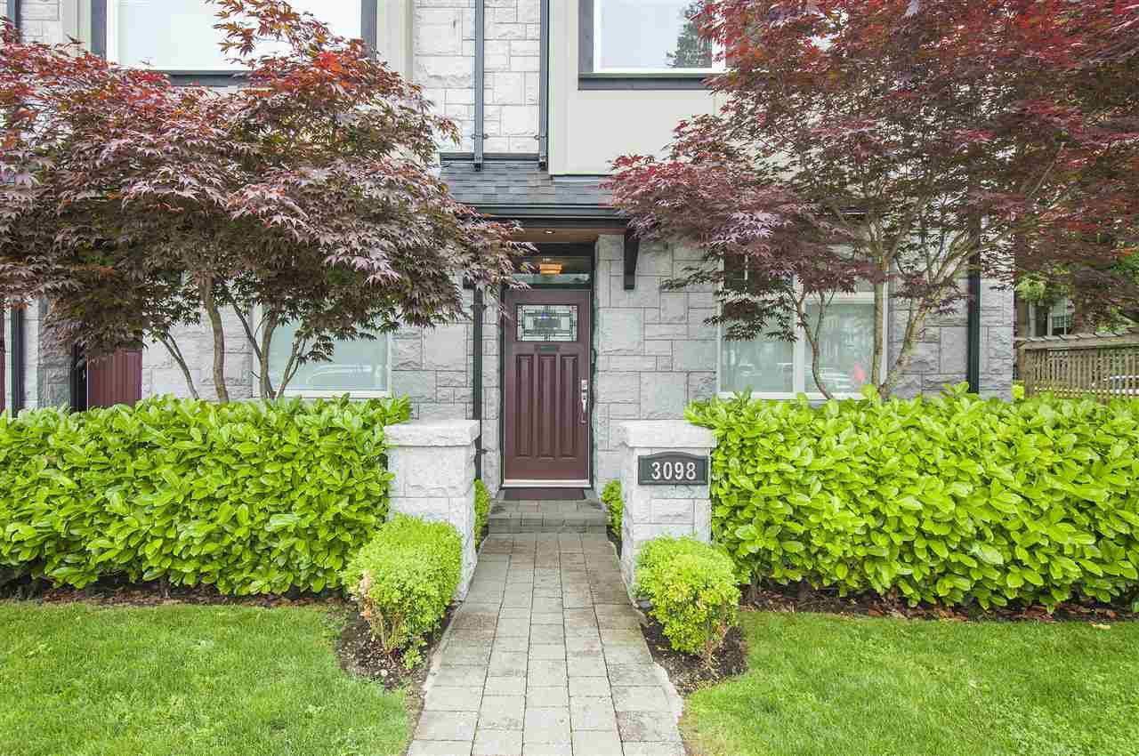 "Main Photo: 3098 LAUREL Street in Vancouver: Fairview VW Townhouse for sale in ""THE LAUREL"" (Vancouver West)  : MLS®# R2281515"