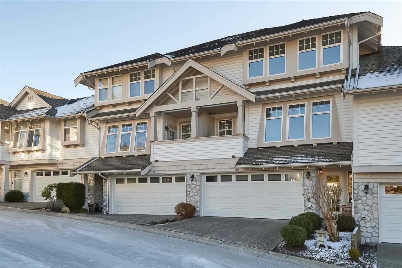 "Main Photo: 52 15037 58 Avenue in Surrey: Sullivan Station Townhouse for sale in ""WoodBridge"" : MLS®# R2377088"