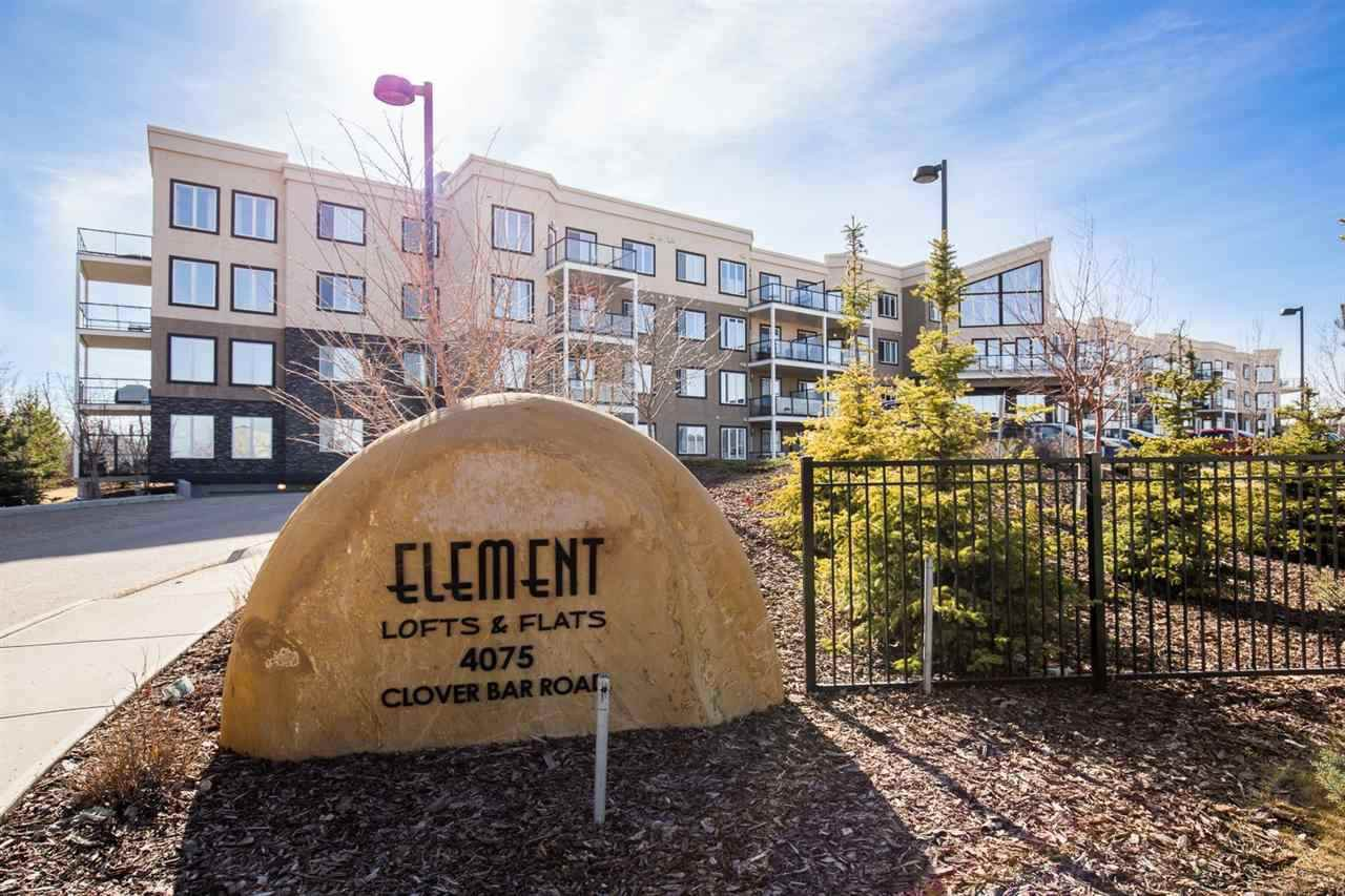 Main Photo: 421 4075 CLOVER BAR Road: Sherwood Park Condo for sale : MLS®# E4207269