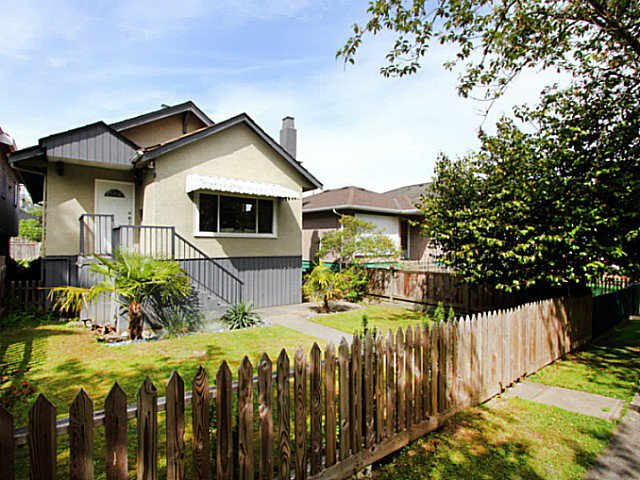 "Main Photo: 1343 E 21ST Avenue in Vancouver: Knight House for sale in ""Cedar Cottage"" (Vancouver East)  : MLS®# V1066067"