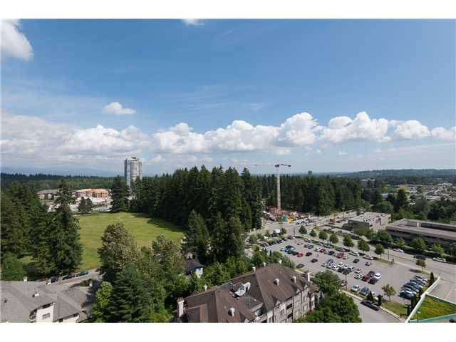 "Main Photo: 1801 1148 HEFFLEY Crescent in Coquitlam: North Coquitlam Condo for sale in ""CENTURA"" : MLS®# V1069249"