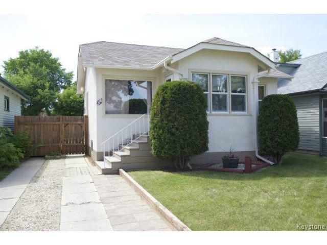 Main Photo: 216 Rutland Street in WINNIPEG: St James Residential for sale (West Winnipeg)  : MLS®# 1414398