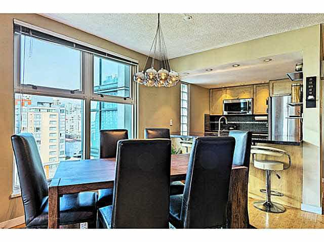"""Photo 10: Photos: B1105 1331 HOMER Street in Vancouver: Yaletown Condo for sale in """"PACIFIC POINT"""" (Vancouver West)  : MLS®# V1100721"""