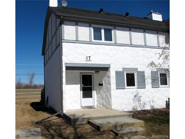 Main Photo: 17 Apple Lane in WINNIPEG: Westwood / Crestview Condominium for sale (West Winnipeg)  : MLS®# 1508789