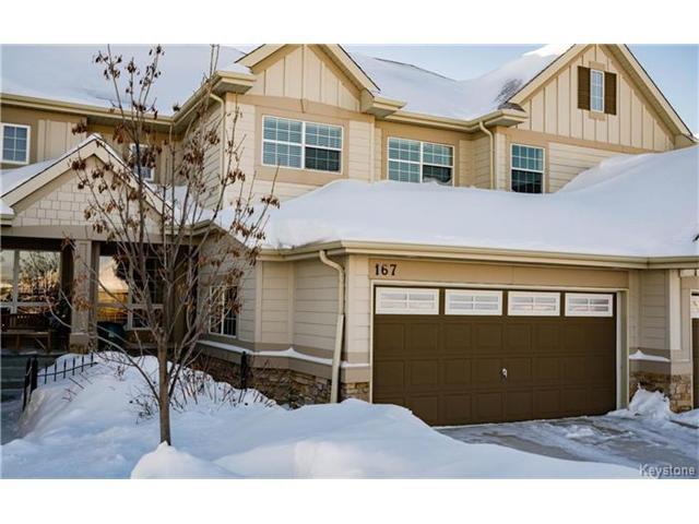 Main Photo: 167 Red Moon Road in Winnipeg: Sage Creek Condominium for sale (2K)  : MLS®# 1700482