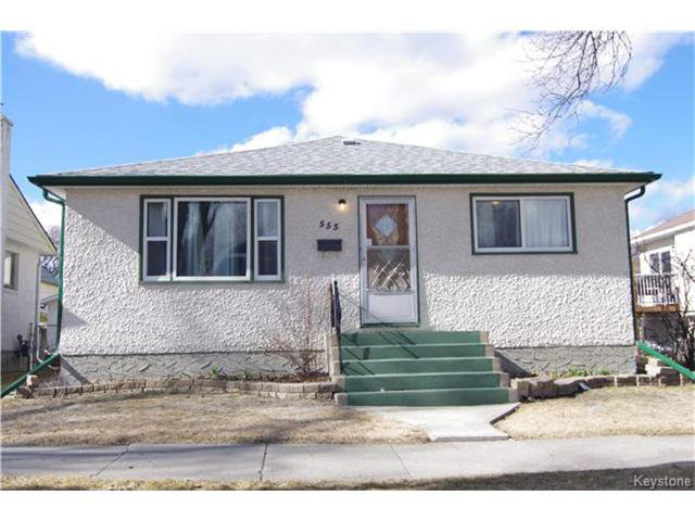 Main Photo: 555 Hethrington Avenue in Winnipeg: Fort Rouge Residential for sale (1Aw)  : MLS®# 1707638