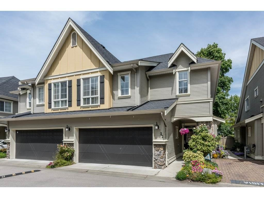 """Main Photo: 22 7171 STEVESTON Highway in Richmond: Broadmoor Townhouse for sale in """"CASSIS"""" : MLS®# R2181164"""