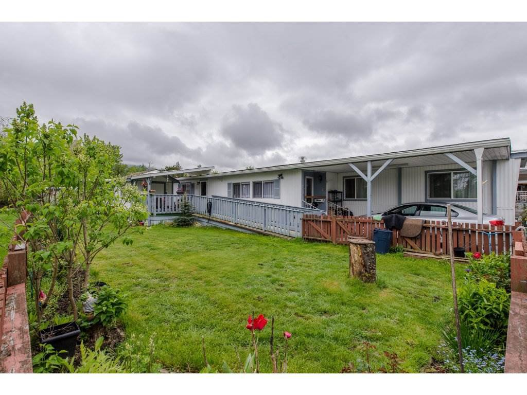 Main Photo: 66 6035 VEDDER Road in Sardis: Sardis East Vedder Rd Manufactured Home for sale : MLS®# R2263342