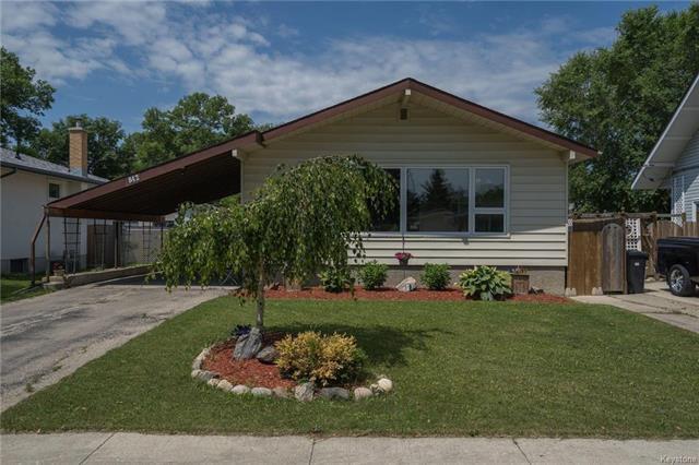 Main Photo: 842 Parkhill Street in Winnipeg: Crestview Residential for sale (5H)  : MLS®# 1817271