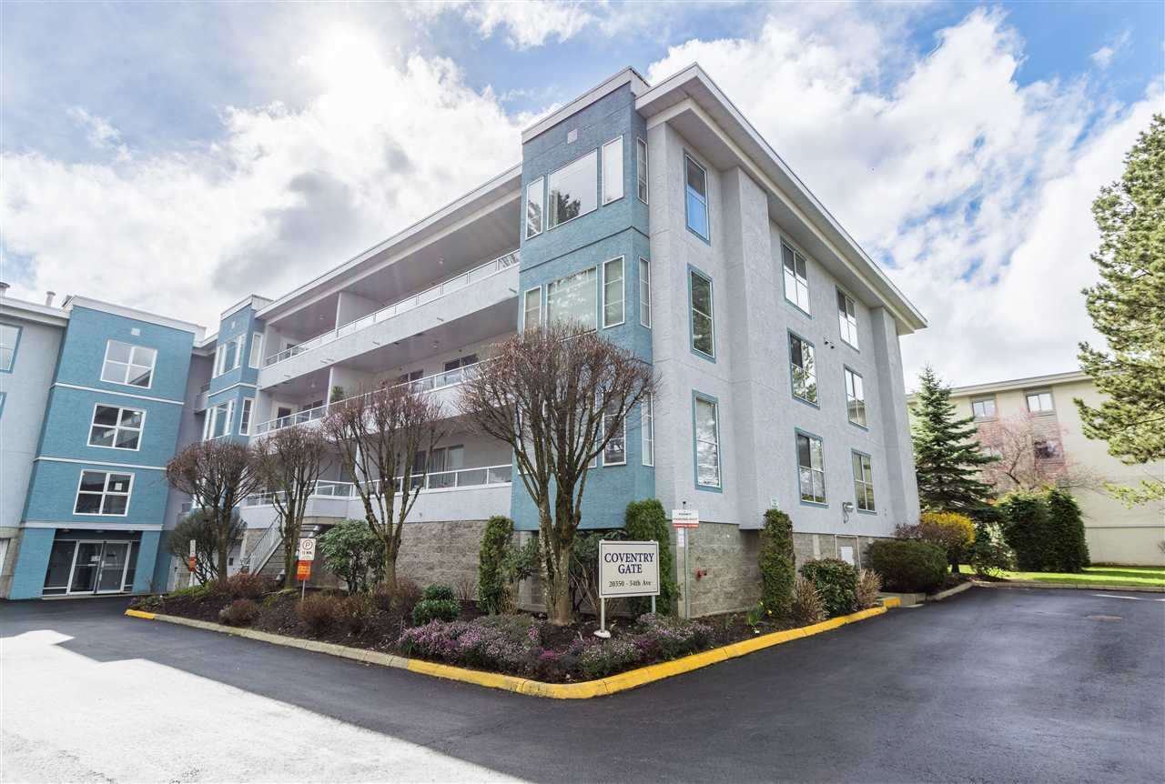 "Main Photo: 106 20350 54 Avenue in Langley: Langley City Condo for sale in ""COVENTRY GATE"" : MLS®# R2317909"