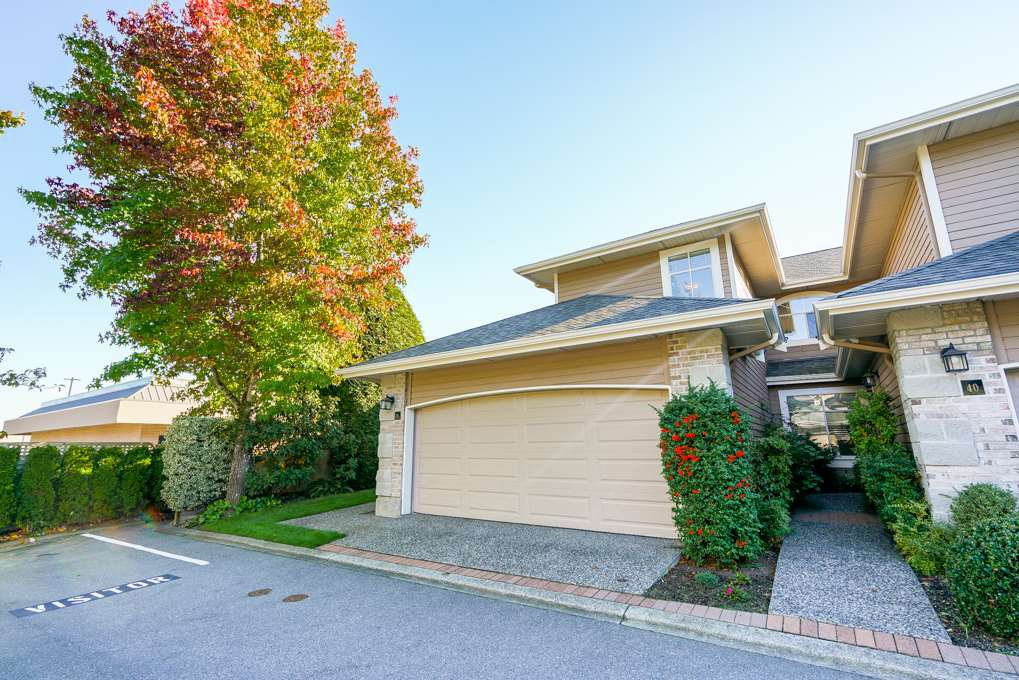 """Main Photo: 39 2500 152 Street in Surrey: King George Corridor Townhouse for sale in """"Peninsula"""" (South Surrey White Rock)  : MLS®# R2324351"""