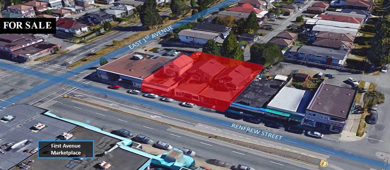 Main Photo: 1762 RENFREW Street in Vancouver: Renfrew VE Land Commercial for sale (Vancouver East)  : MLS®# C8025850