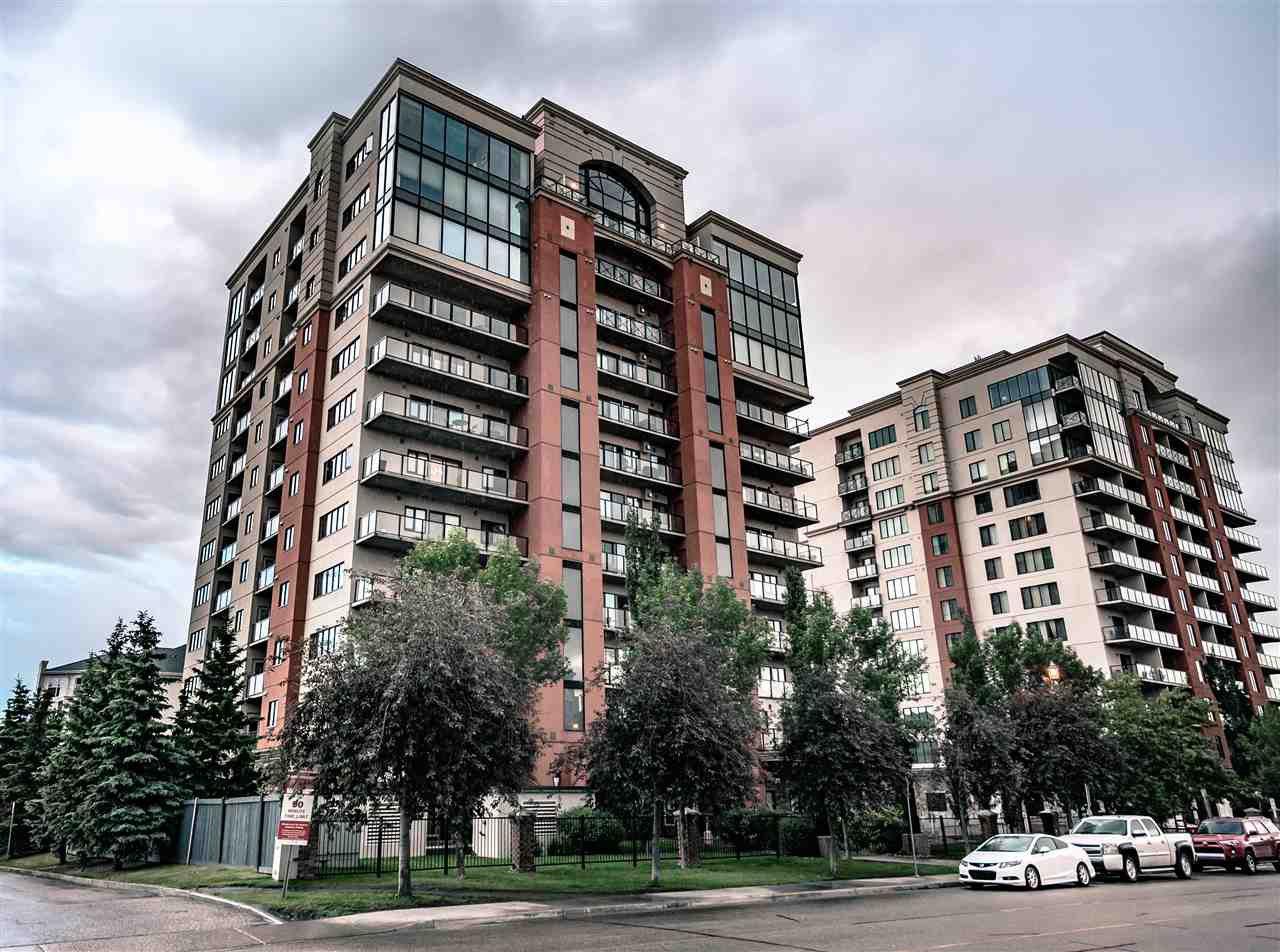 Main Photo: 804 10319 111 Street in Edmonton: Zone 12 Condo for sale : MLS®# E4163374