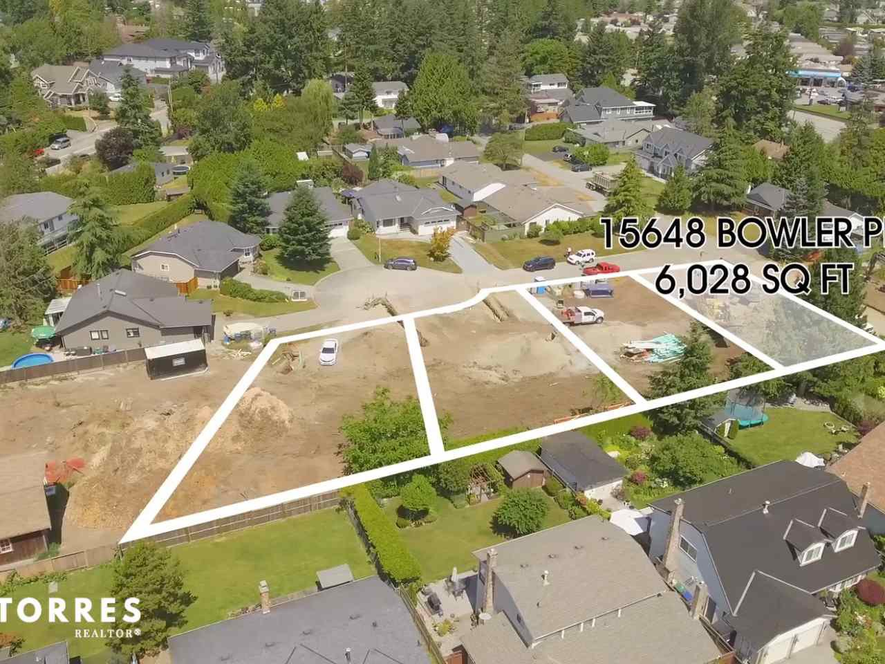 Main Photo: 15648 BOWLER Place in Surrey: King George Corridor Land for sale (South Surrey White Rock)  : MLS®# R2384984